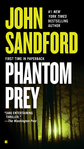 Phantom Prey, tall paperback