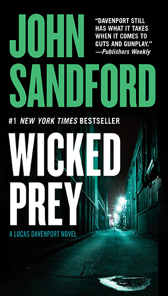 Wicked Prey, tall paperback